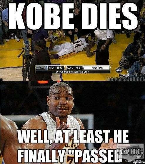 Kobe Dies - meme
