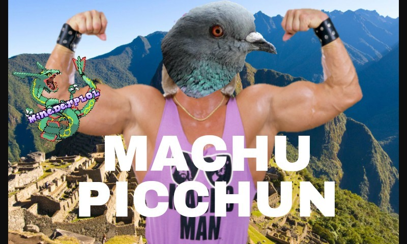 Lel cito shinny alieno33 e derp-e-herp-fighi. Peace ͡° ͜ʖ ͡° . P.s. notare Machu Picchu sullo sfondo :something: - meme