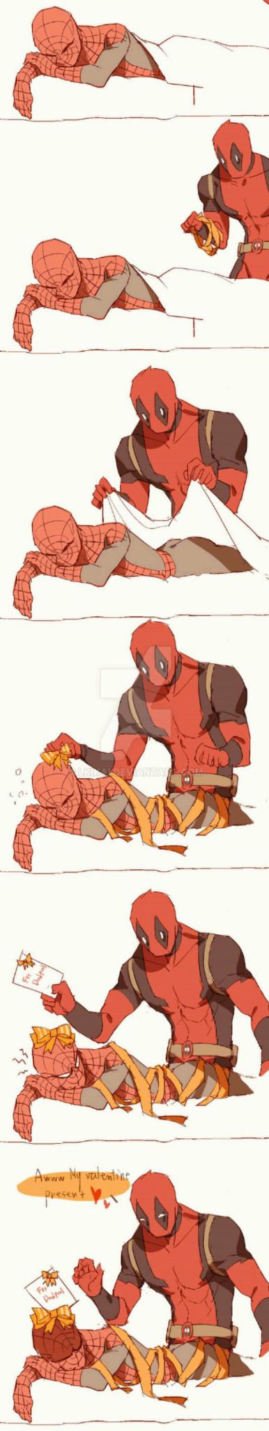 Deadpool ( ͡° ͜ʖ ͡°) - meme