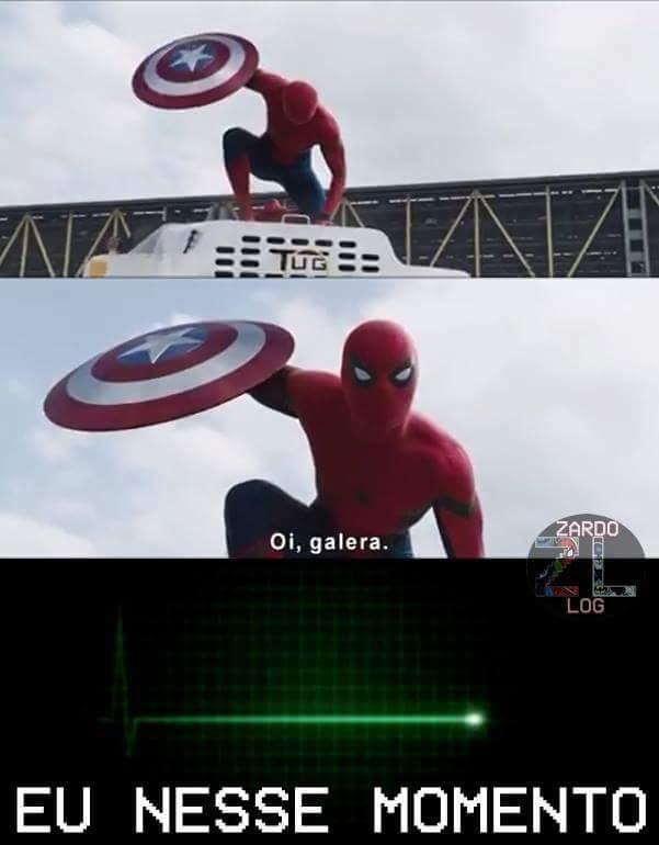 Finalmente!!  O.o vejam o novo trailer de guerra civil.. - meme