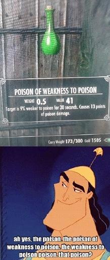 that poison? - meme