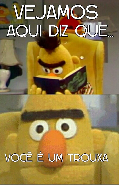 Bert indelicado - meme