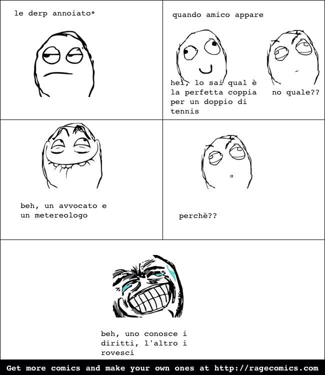 avvocato e metereologo - meme