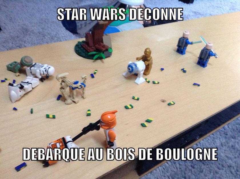 Star wars parodie - meme