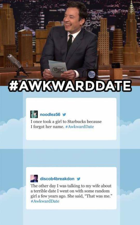 Awkward date... - meme