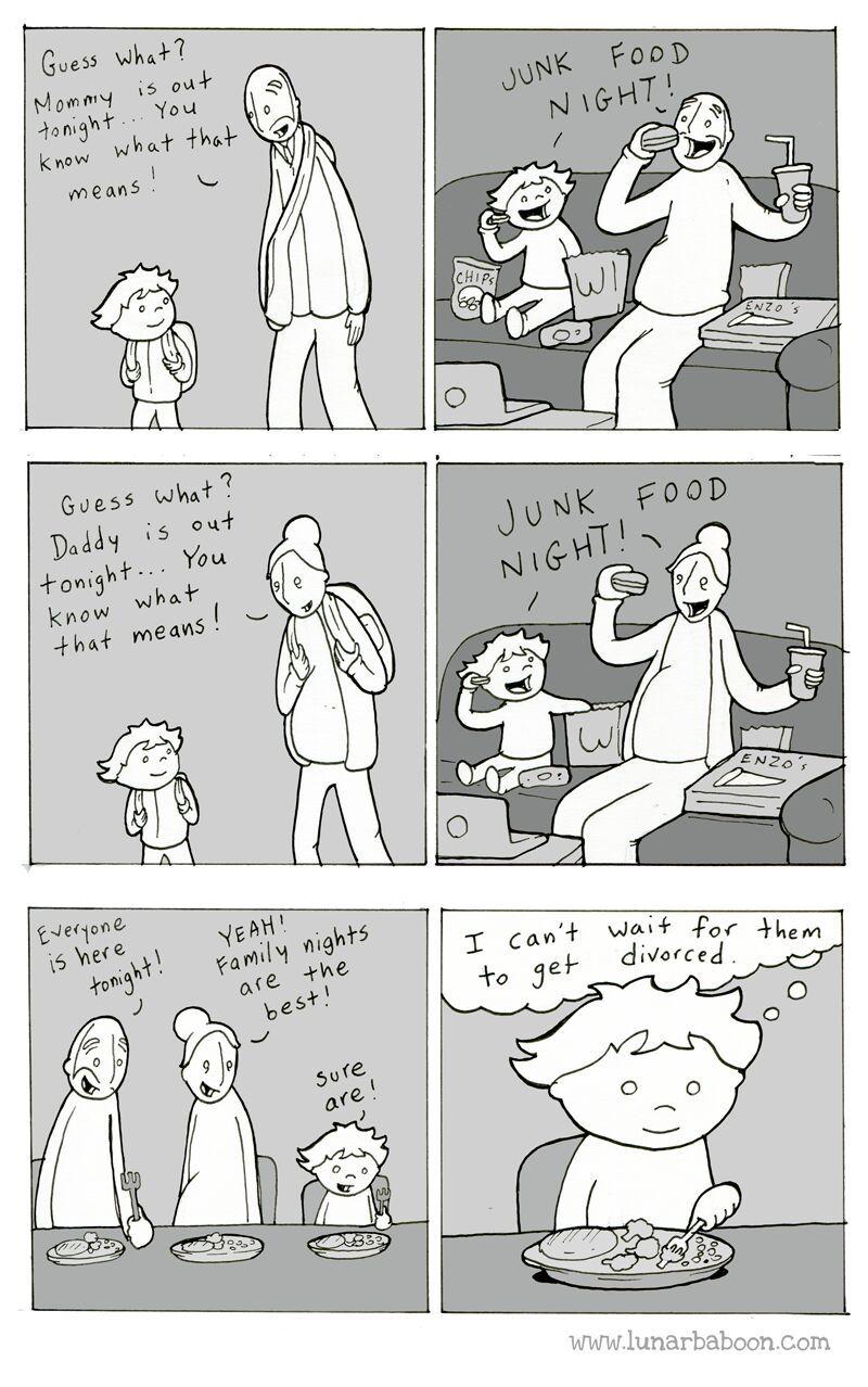 I love family nights - meme