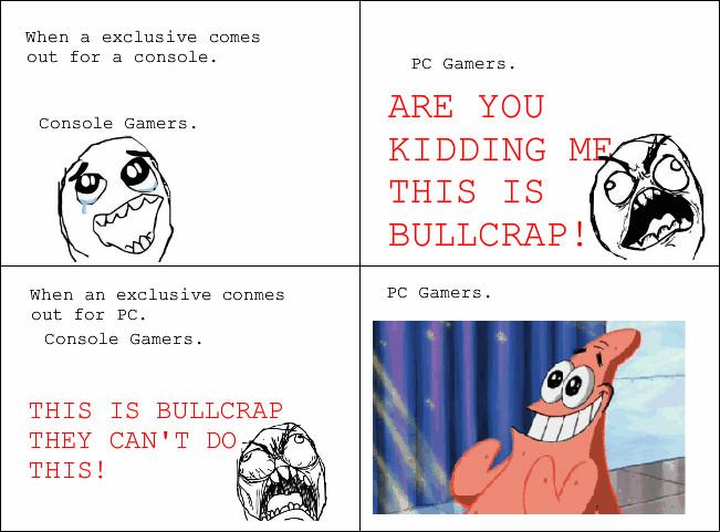 Pc&console hybrid master race. - meme