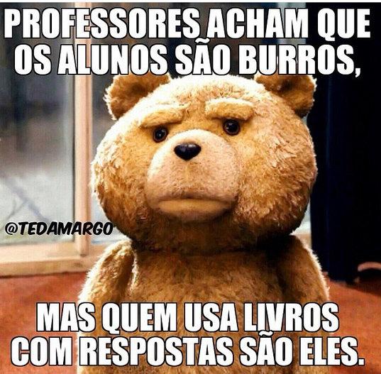 Chupa professores - meme