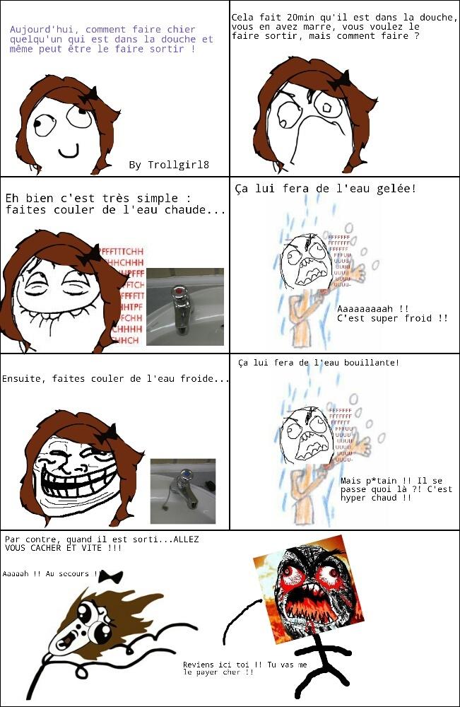 La douche... - meme
