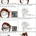 La douche...