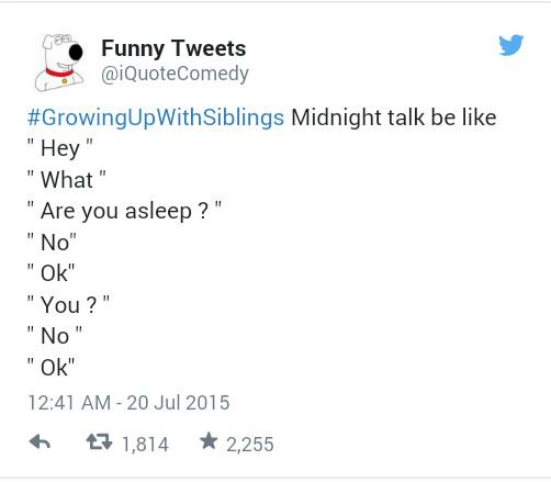 growing up with siblings... - meme