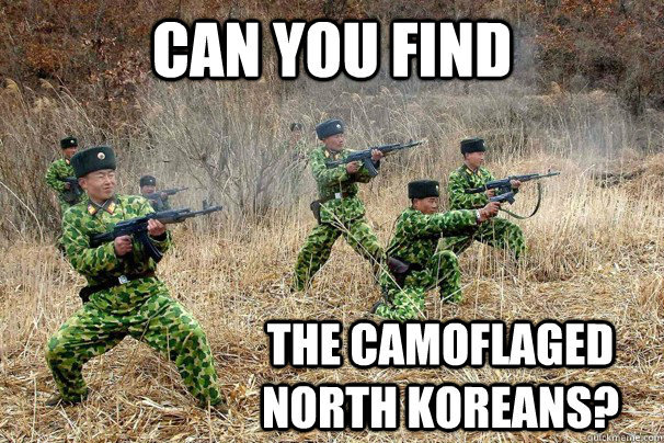 I can't find them. - meme