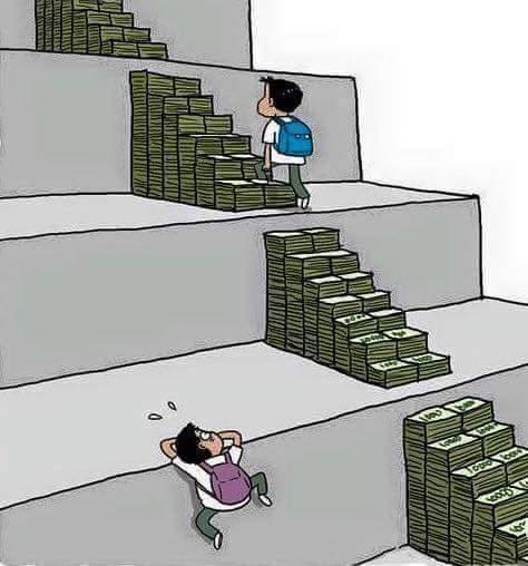 Rico y pobre - meme