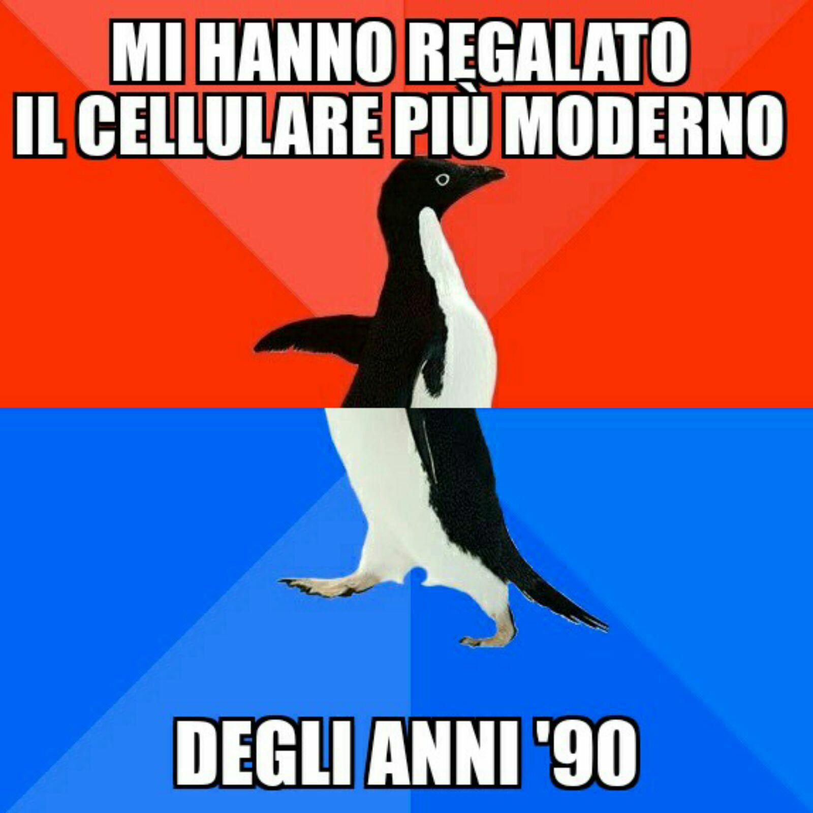 Socially Awesome Awkward Penguin: Utilizzo corretto~calciatore111 - meme