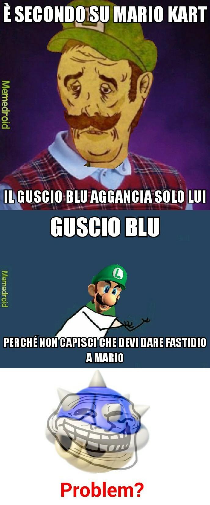 Donate anche voi 2 euro a Luigi. Meme un po' randomico ma ci sta