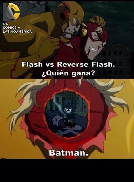 Batman siempre gana - meme