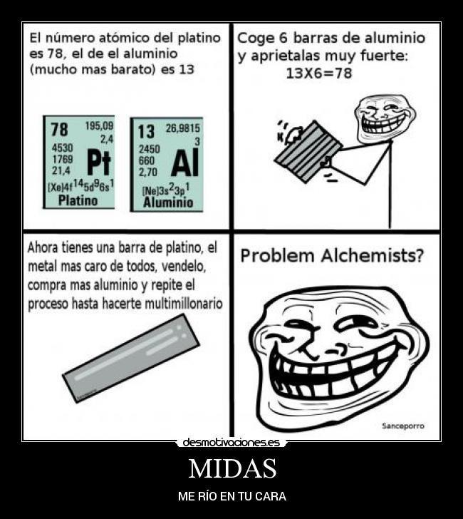 Problem quimicos? - meme