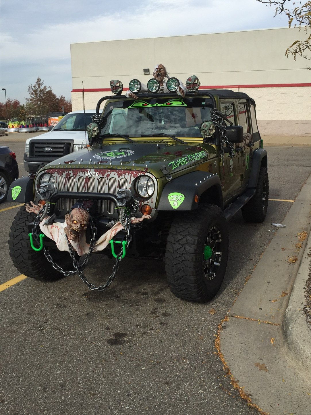 sweet zombie jeep - meme