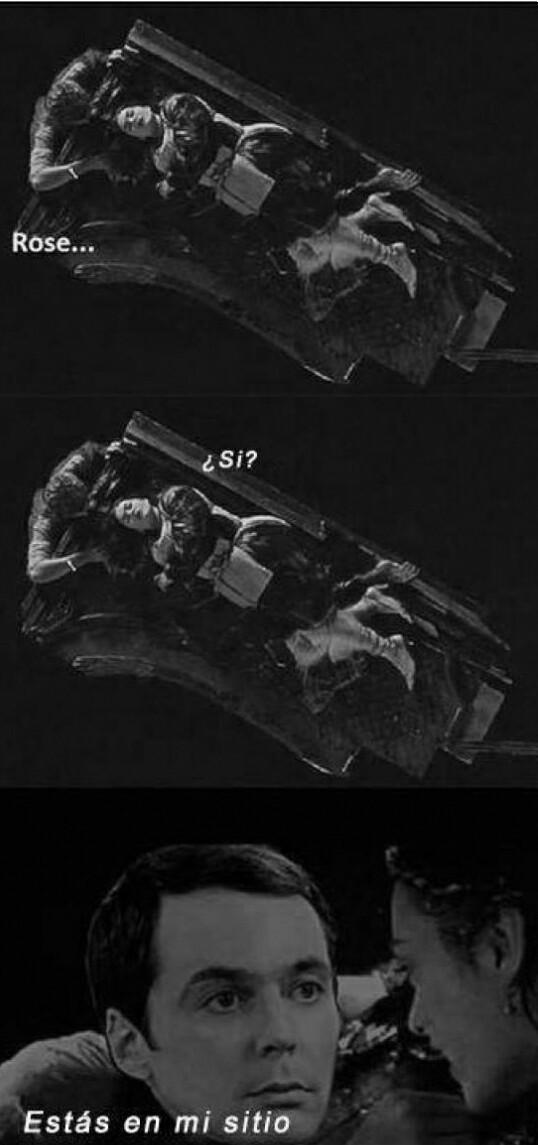 Tbbt + titanic - meme