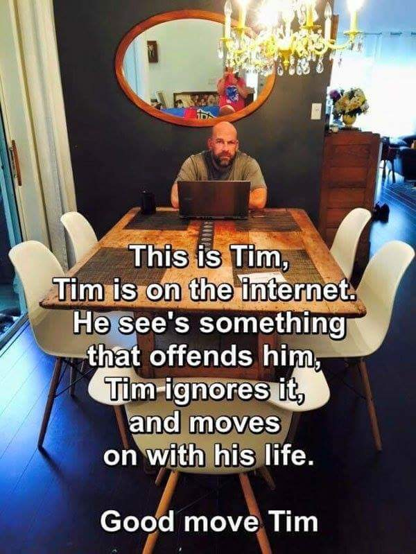 Please be a Tim. - meme