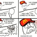 Troll do mc donald's