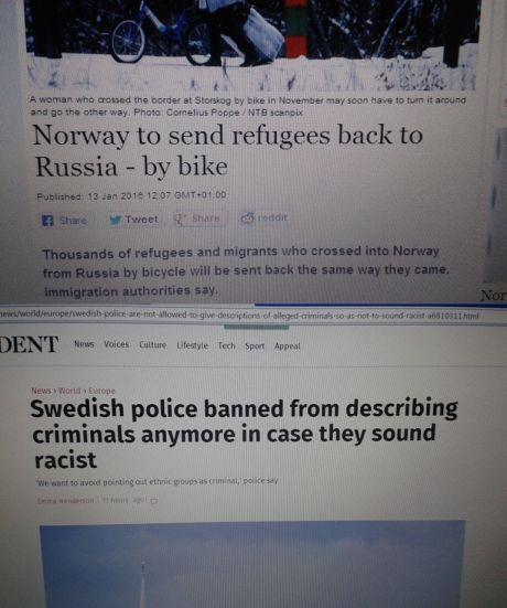 Norway vs. Sweden - meme