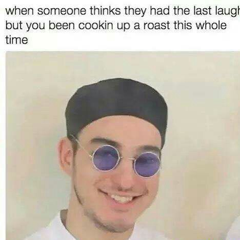 Premium roasts - meme