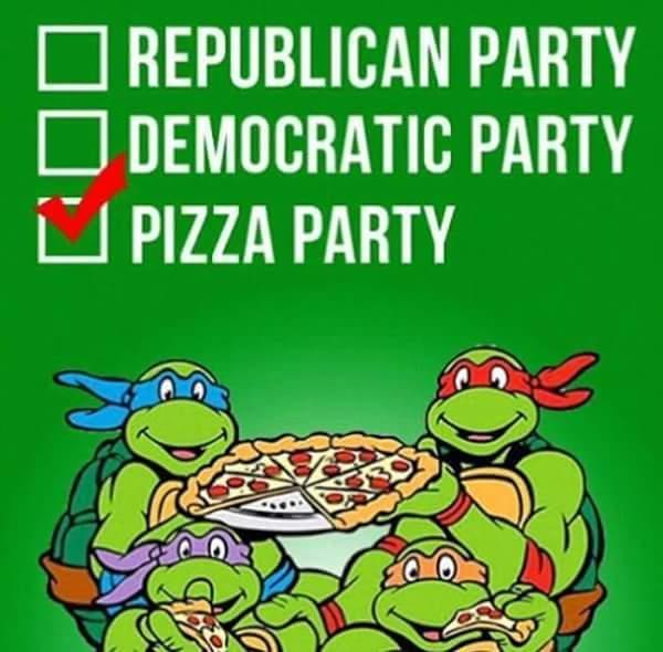 Pizza for 2016 - meme