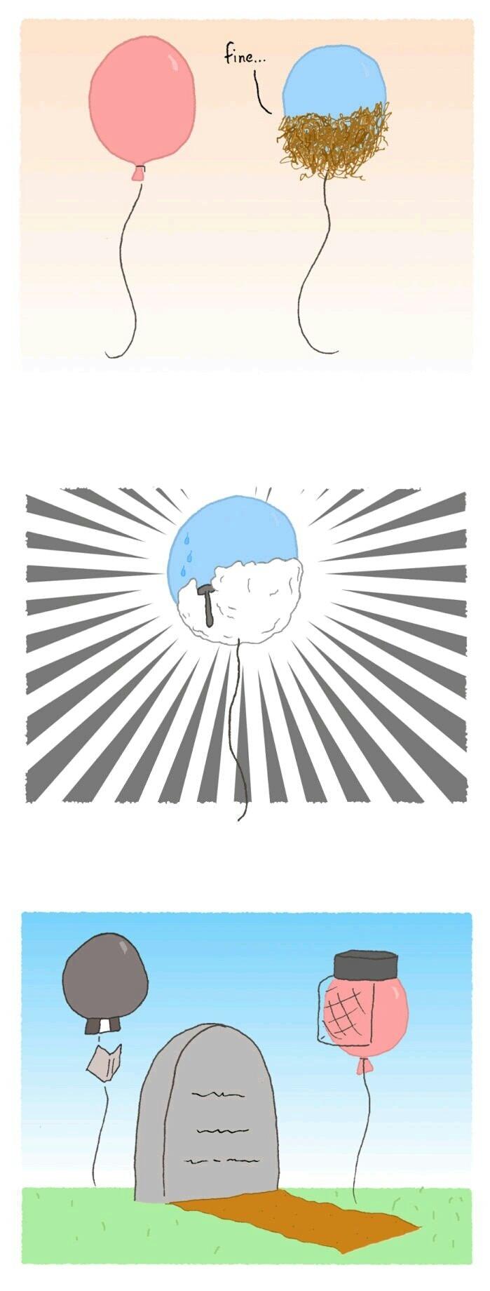 R.I.P Ballon - meme