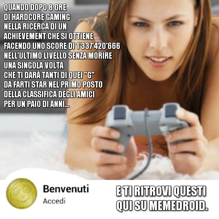 ACHIEVEMENT, CITO IL MIO MICROFONO ROTTOH - meme