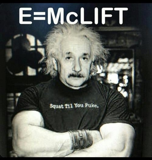 Einstein's other profession - meme