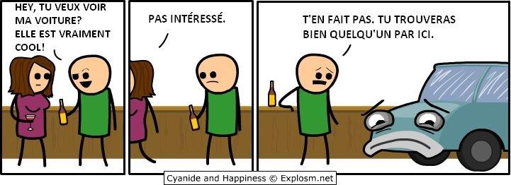 Dsl du retard ;) Cyanide and happiness #12 - meme