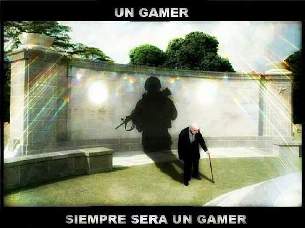 ^-^ Eso es Ser Gamer - meme