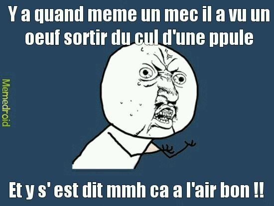 Oeuf - meme