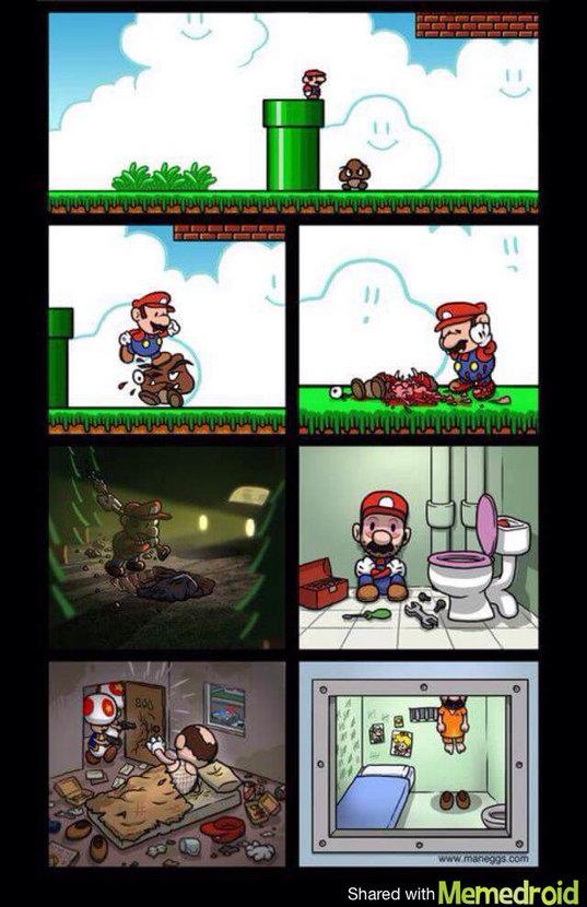Mario le tueur - meme