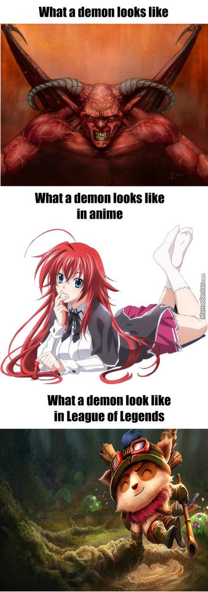 For the glory of Satan. - meme