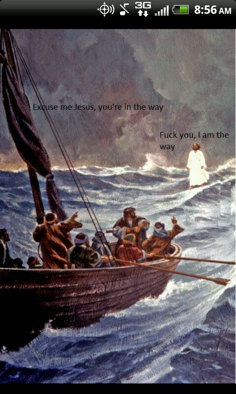 Go read the bible - meme