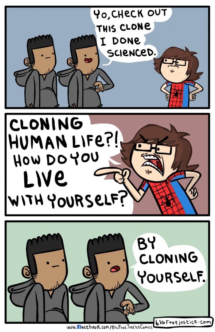 Clones ftw - meme