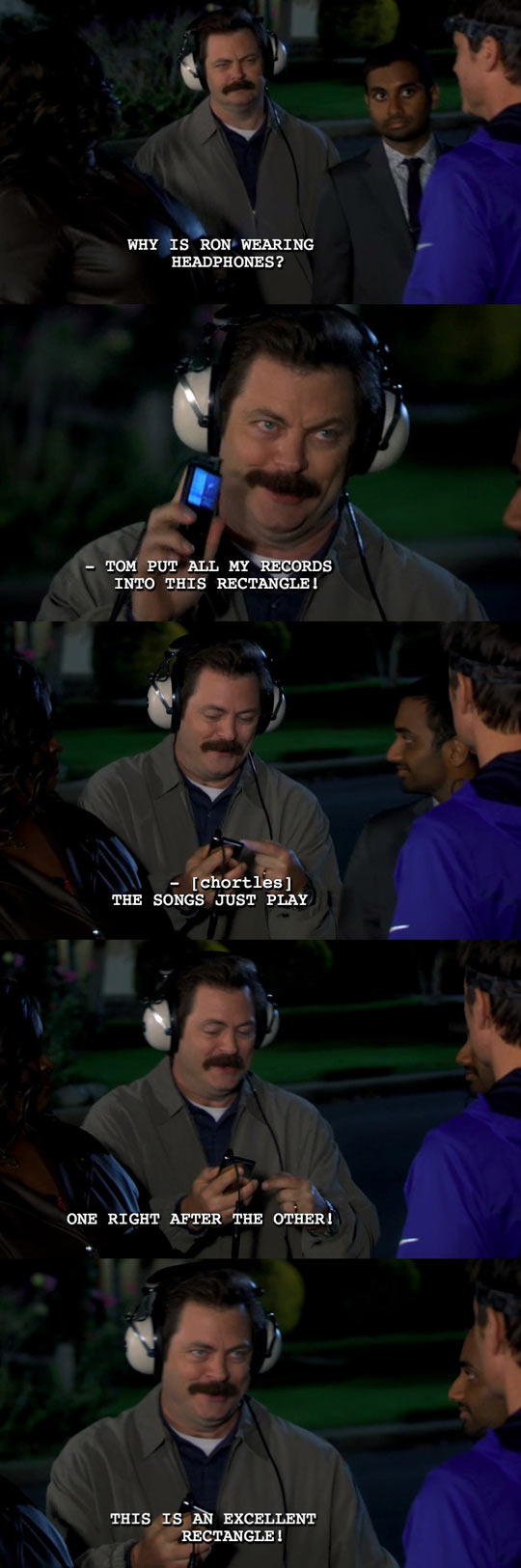 Parks and recreation is great - meme