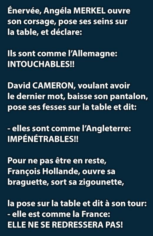 François n'est pas gay, Angela n'est pas belle.voila. - meme