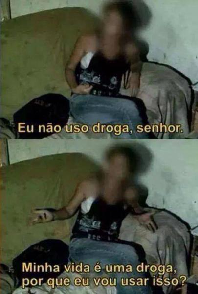 Droga! - meme