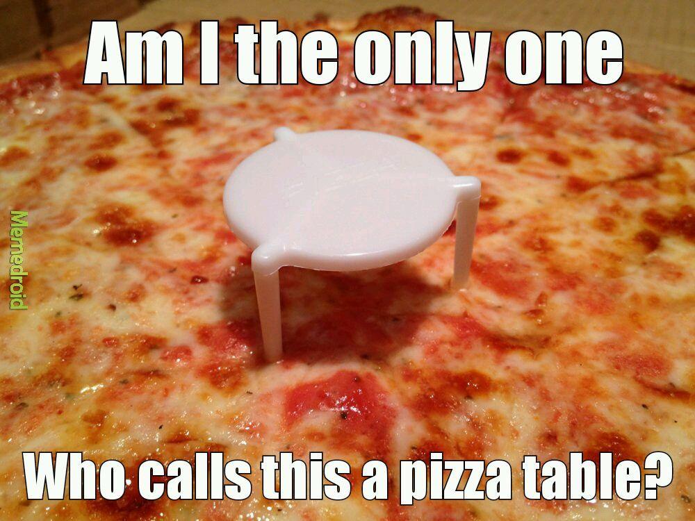 Title wants pizza - meme