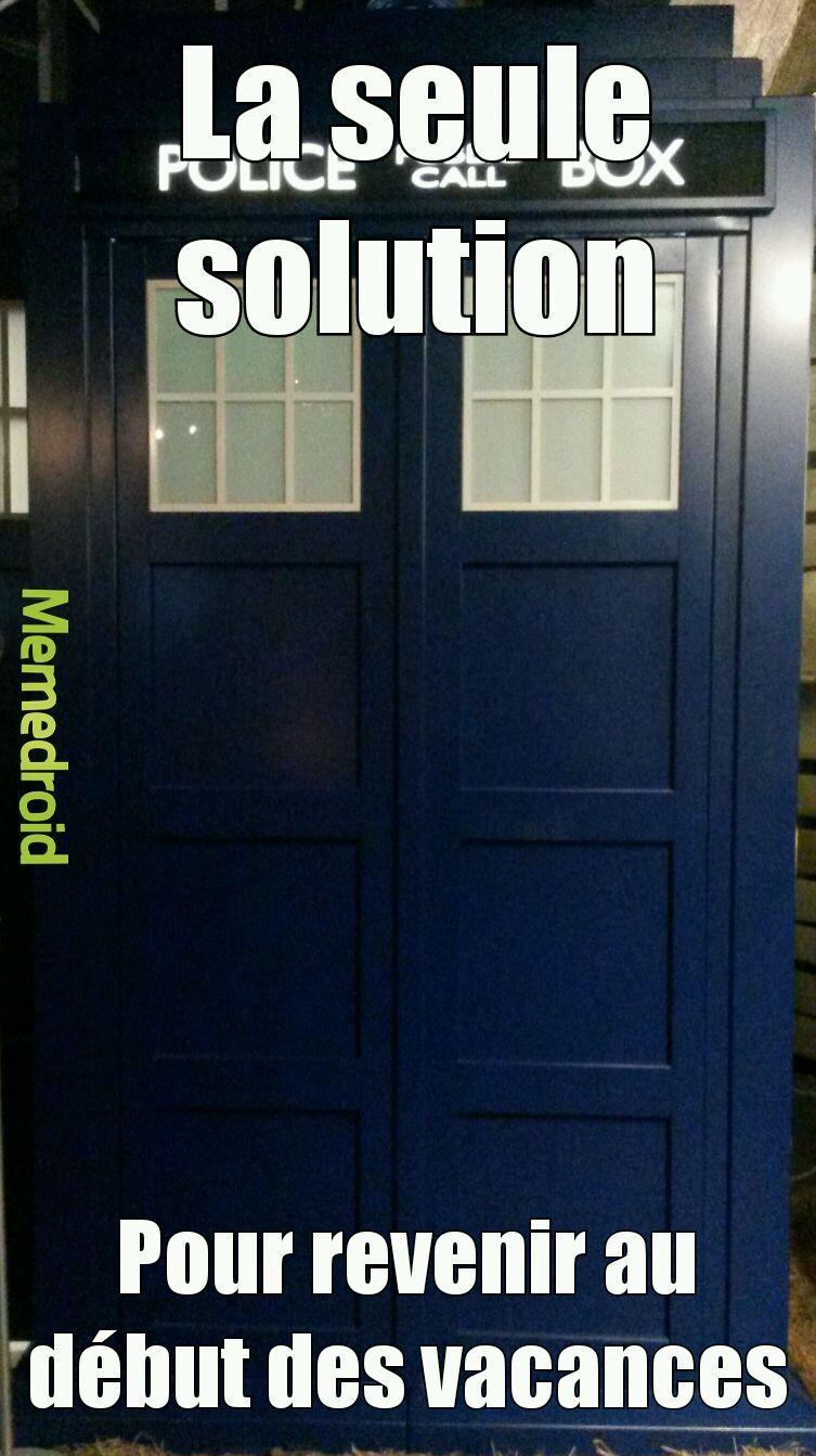 Pour les fans de Dr Who - meme
