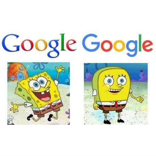 the new google is different. eww new things - meme
