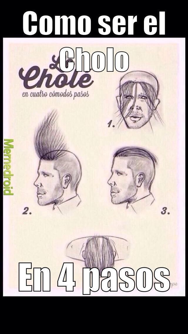 Se el Cholo - meme