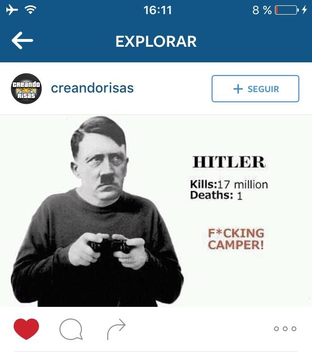 El Título Mato A Hitler :v - meme