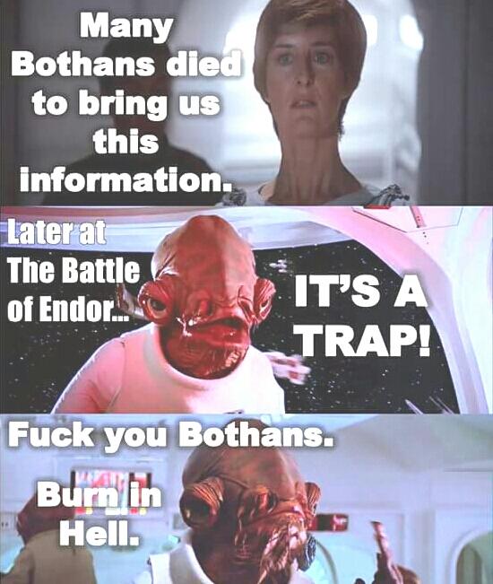 Wow Admiral Ackbar! - meme