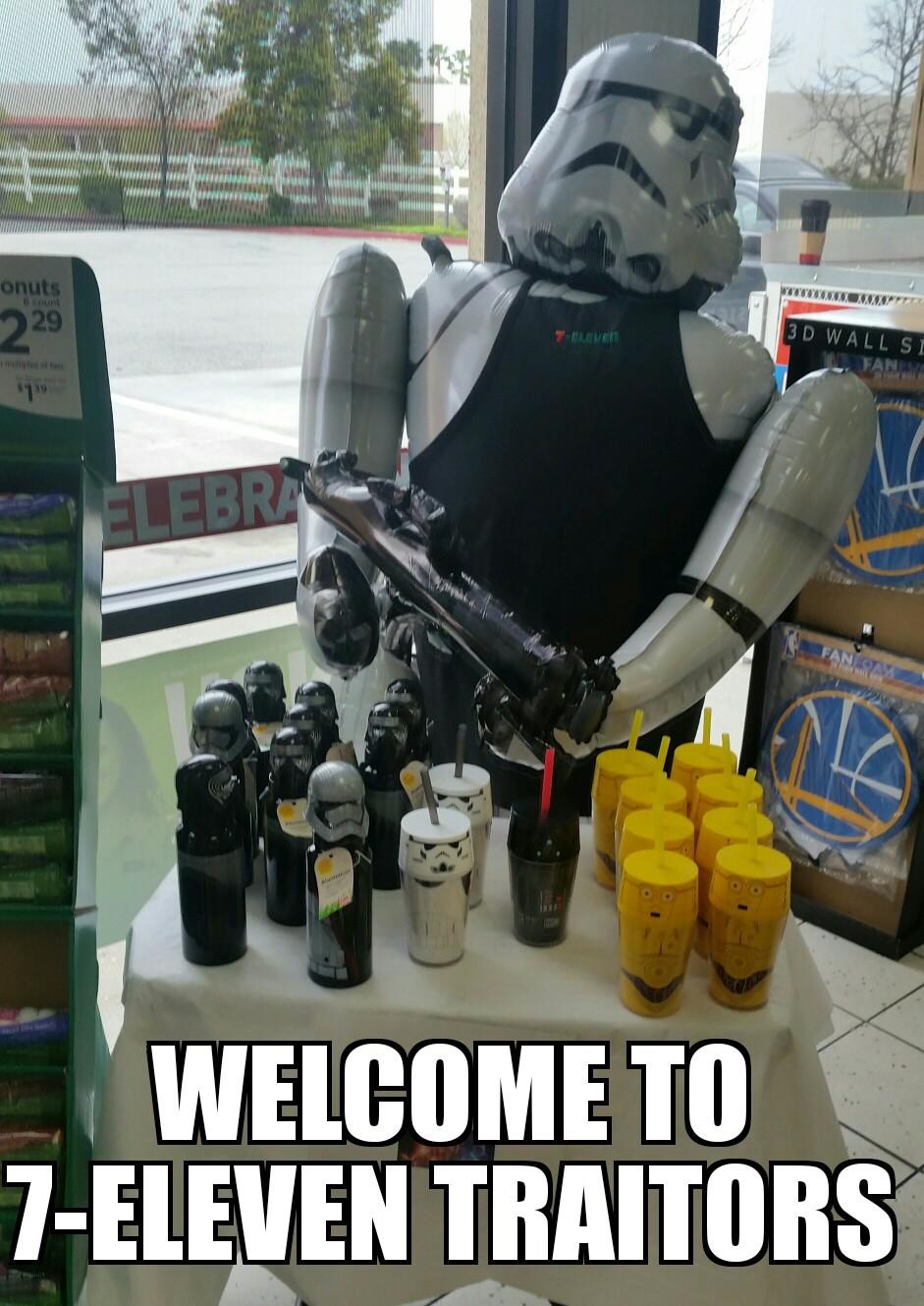 7-Eleven Trooper - meme