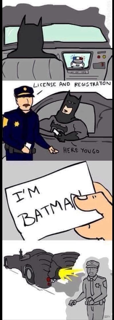 I am batman - meme