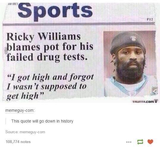 oh Ricky... - meme